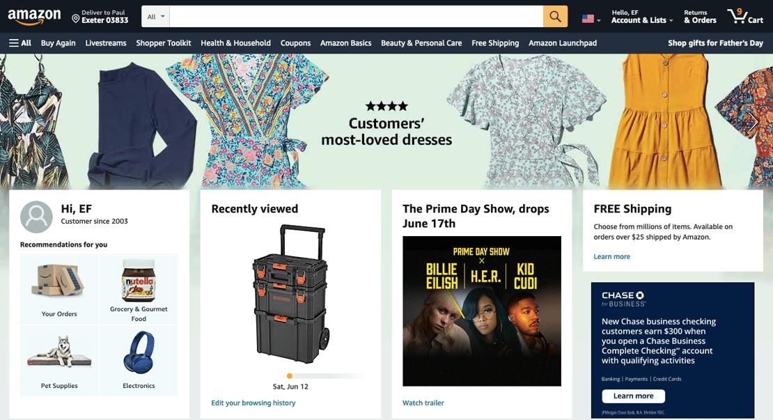 Amazon homepage-1