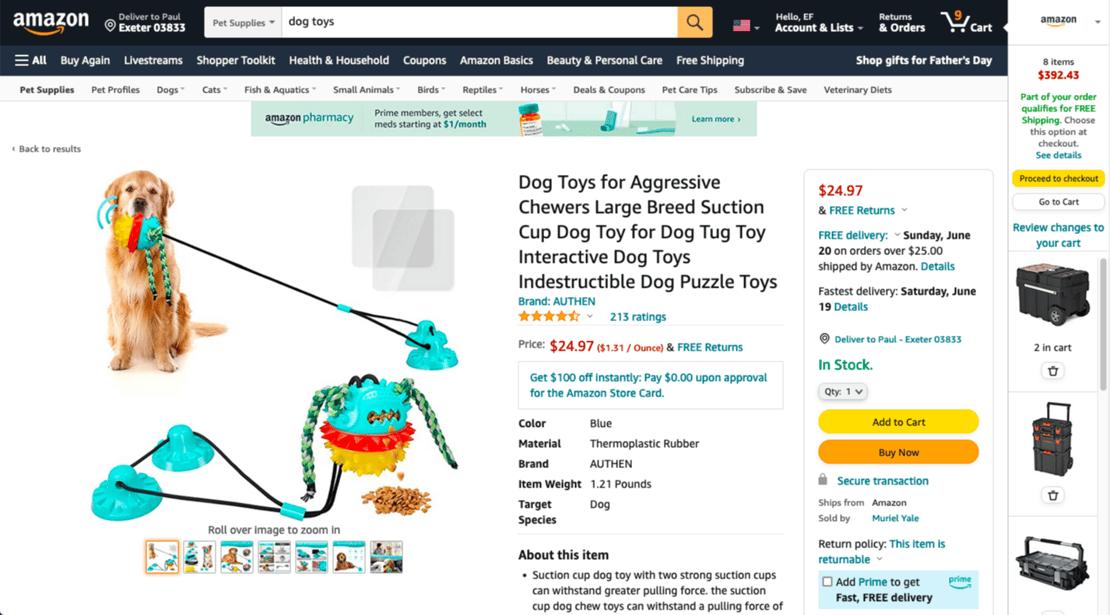 Amazon product page-1