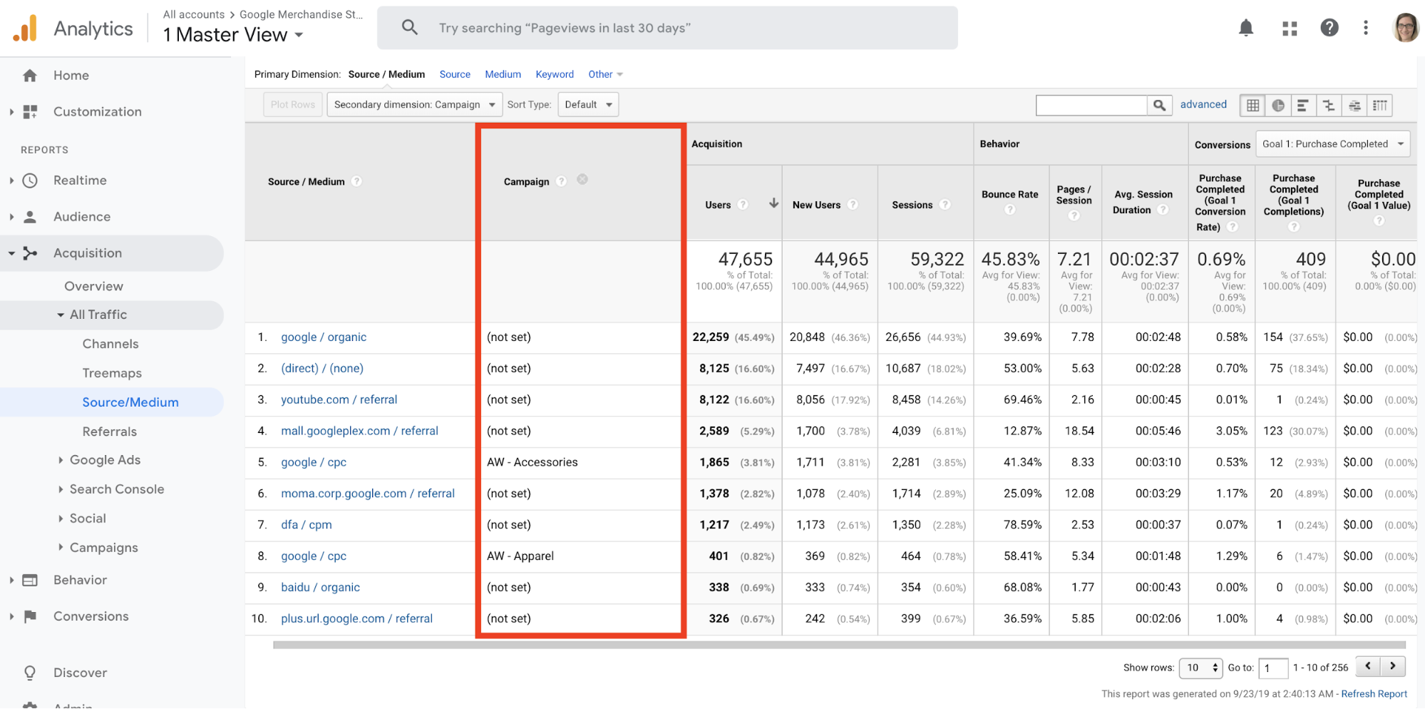 Google Analytics_Campaigns
