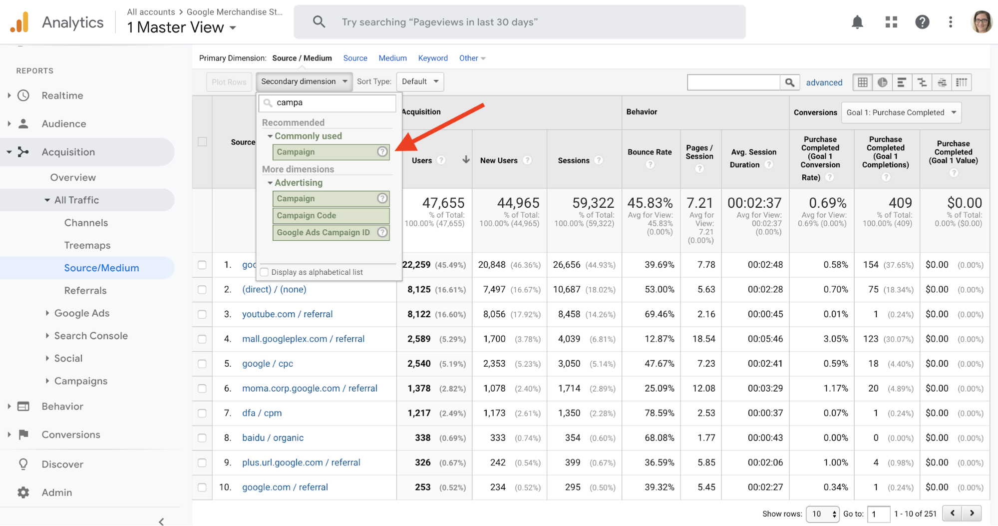 Google Analytics_Campaigns_Button