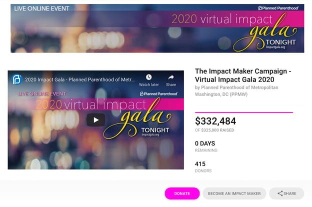 Virtual Event Landing Page