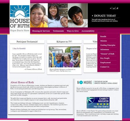 House of Ruth old website