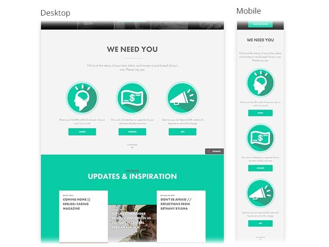 Invisible Children website