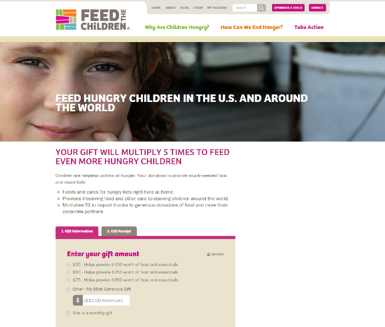 Feed the Children Donations