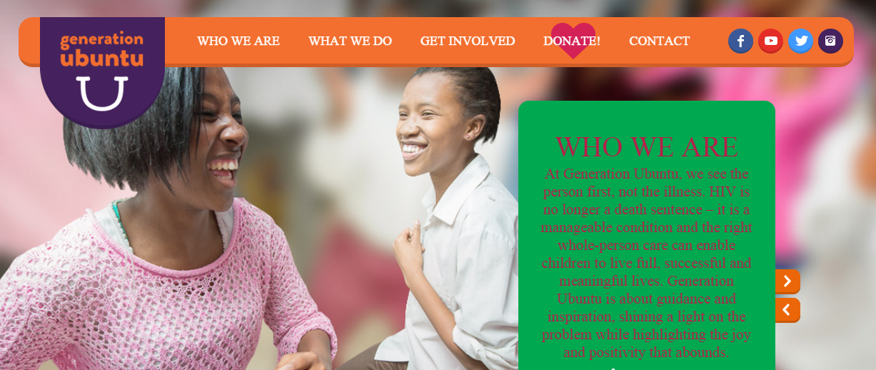 Generation Ubuntu Holistic care for children living with HIV