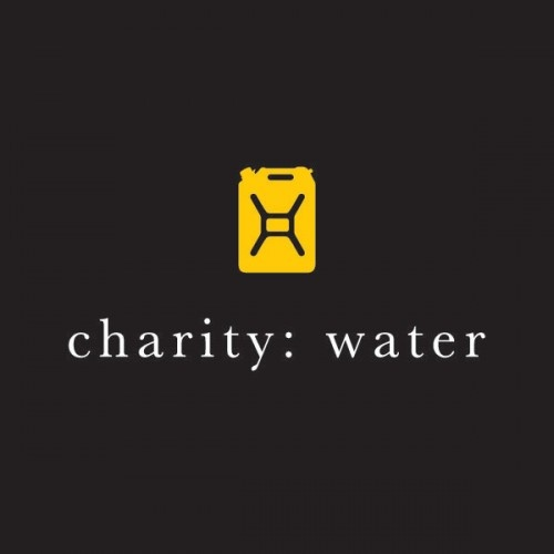 nonprofit web design brand charity:water