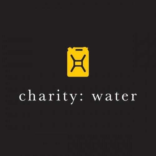 nonprofit web design brand charity:water