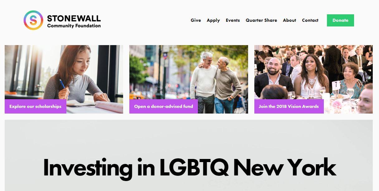 stonewall community foundation