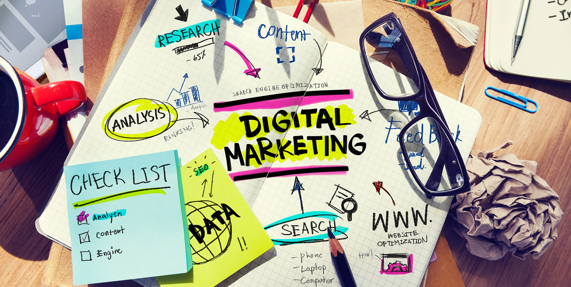 poster of nonprofit digital marketing